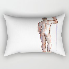 PATRICK, Nude Male by Frank-Joseph Rectangular Pillow