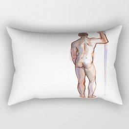 PATRICK, Nude Male by Frank-Joseph Rectangular Pillow