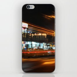 Whitianga High Street After Dark iPhone Skin