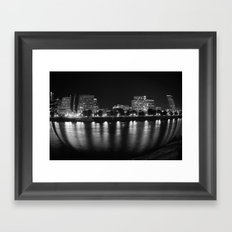 living in a fish bowl Framed Art Print
