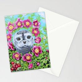 Rosa Rugosa Seal Stationery Cards