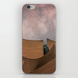 Architectural abstract of the home of the LA Philharmonic. Architect: Frank Gehry iPhone Skin