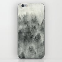 silver iPhone & iPod Skins featuring Everyday by Tordis Kayma