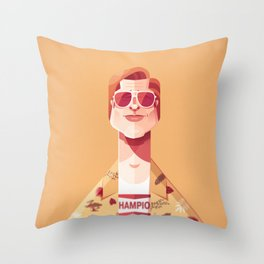 Brad Pitt (Once upon a time in Hollywood). Throw Pillow