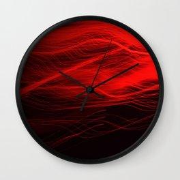 Light Bleeds Wall Clock