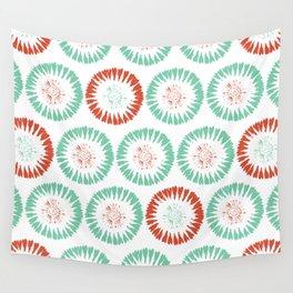 Block Print Circles Wall Tapestry