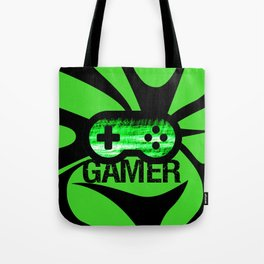 Gamer Green V2 Tote Bag