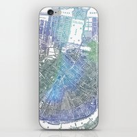 new orleans iPhone & iPod Skins featuring New Orleans by Catherine Holcombe