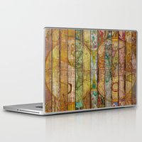 maps Laptop & iPad Skins featuring Around the World in Thirteen Maps by Diego Tirigall