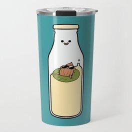 Almond Milk and Chill Travel Mug