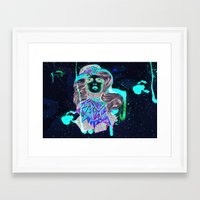 woman Framed Art Prints featuring Woman by Felicia Atanasiu