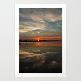 Colington Sunset  Art Print