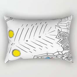 PowerLines 31 Rectangular Pillow