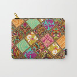 Patchwork Paisley Carry-All Pouch