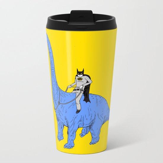 Dinosaur B Metal Travel Mug
