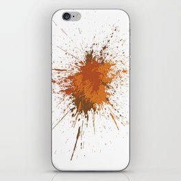 Splatter #12 iPhone Skin