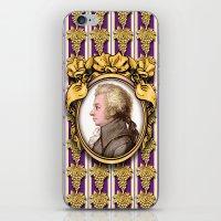 mozart iPhone & iPod Skins featuring Mozart Wallpaper by Glenn Designs