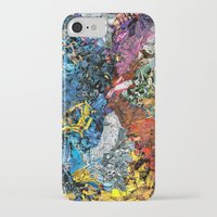 xmen iPhone & iPod Cases featuring The XMen by MelissaMoffatCollage
