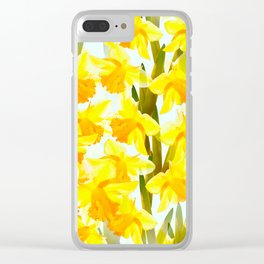 Spring Breeze With Yellow Flowers #decor #society6 #buyart Clear iPhone Case