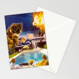 Midcentury Radioactive Cuddle Unit 5 Stationery Cards