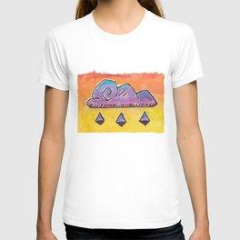 Swirly Stormy Cloud T-shirt
