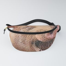 Pig Face Sus Happy to be Eaten Without Reason Fanny Pack