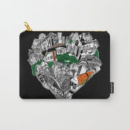 The Heart Of Brooklyn Carry-All Pouch