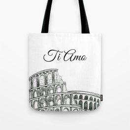 Roman Colosseum Print Tote Bag
