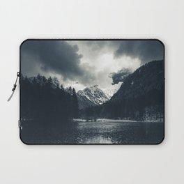 Darkness and rain at Zgornje Jezersko, Slovenia Laptop Sleeve