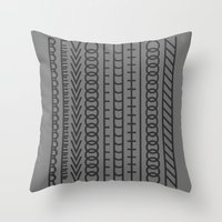 revolution Throw Pillows featuring Revolution by Capital Knight