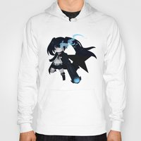 vocaloid Hoodies featuring Black Rock Shooter by Nozubozu