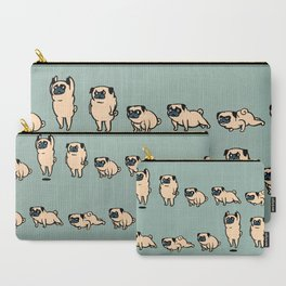 Pug Burpees Carry-All Pouch