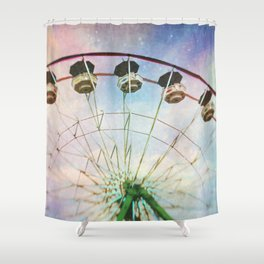 way up yonder Shower Curtain