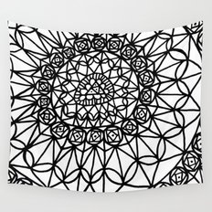 Doodle 12 Wall Tapestry