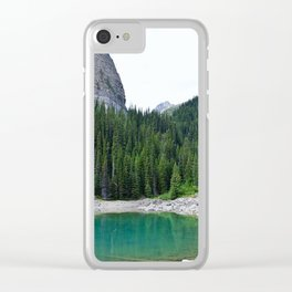 Forest Wonder Clear iPhone Case