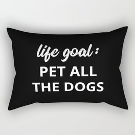 The Dog Lover II Rectangular Pillow
