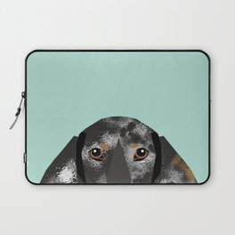 Doxie Dachshund merle dapple dog cute must have dog accessories dog gifts cute doxies dachshunds des Laptop Sleeve