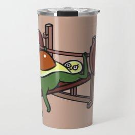 Avocado Bench Press Travel Mug