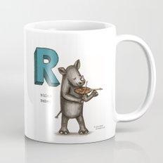 Animals & Instruments ABCs – R (2) Coffee Mug