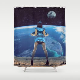 Show on! Shower Curtain