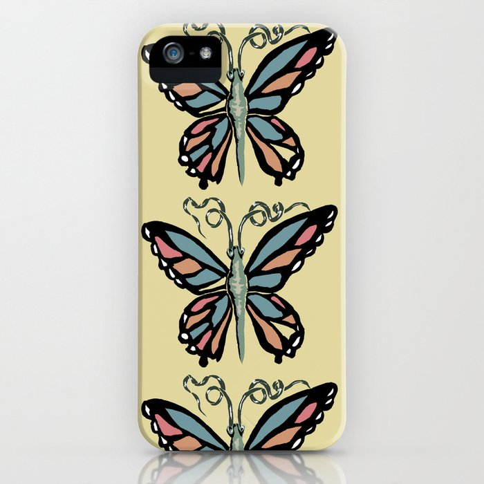 Butterfly Mosaic iPhone Case