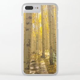 Good Vibes in The Forest Clear iPhone Case