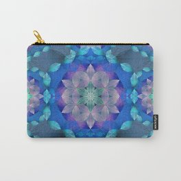 The Flower of Life - Leaf Pattern 2 Carry-All Pouch