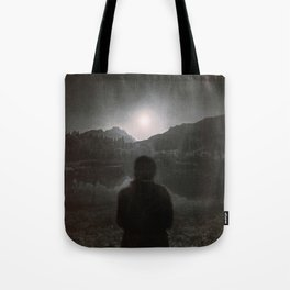 Hypnotized by the Moon II Tote Bag