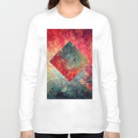 square Long Sleeve T-shirts featuring Random Square by Esco