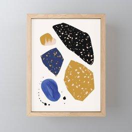 Seaside Rocks 1 Framed Mini Art Print