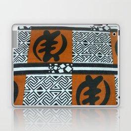 Ghanaian Gye Nyame African Print Laptop & iPad Skin