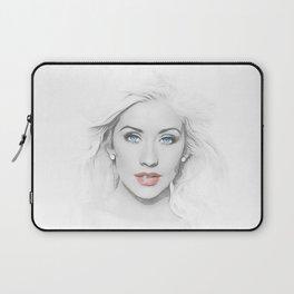 Christina Aguilera - Pop Art Laptop Sleeve
