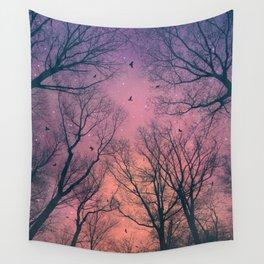 When the Dawn Is Still Dark Wall Tapestry