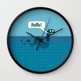 Hello Nessi Wall Clock